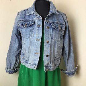 Classic Lightwashed Denim Jacket